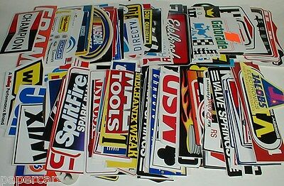 32 Large  Sm Grab Bag New Edelbrock Nascar Original Hot Rod Racing Decal Sticker