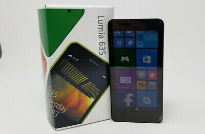 Nokia Lumia 635 - 8GB - Black (AT&T + GSM Unlocked) Has Minor Issue- Please Read