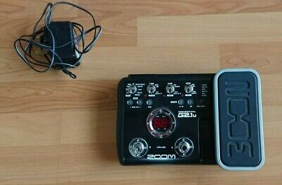 Zoom G2.1u Guitar Multi effects Pedal and Audio Interface. Good Condition