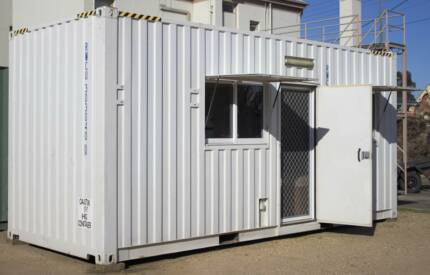 SELF CONTAINED 20ft SHIPPING CONTAINER DONGA SITE BUILDING HOME Bairnsdale East Gippsland Preview