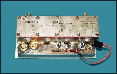 Tektronix 492 494 495 496 2754 Analyzers 2nd Converter Assy 119-1096-02