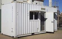 SHIPPING CONTAINER GRANNY FLAT FULLY SELF CONTAINED DONGA 20' Bairnsdale East Gippsland Preview