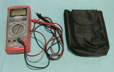 Snap-on Tools Eedm503d Manual Ranging Digital Diagnostic Multimeter With Case