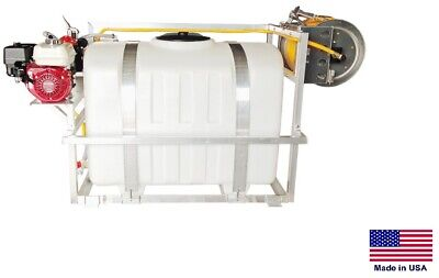 Sprayer Commercial - Skid Mounted - 9.5 Gpm - 580 Psi - 5.5 Hp - 200 Gallon Tank