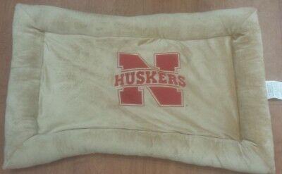 University of Nebraska Cornhuskers NCAA Pet Dog pillow Dog bed 20x30