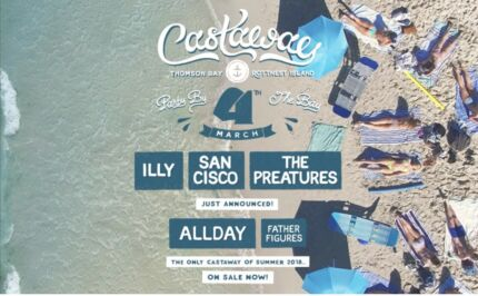 2 x Castaway Tickets 2018 with Return Ferry