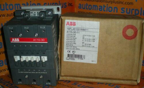 ASEA BROWN BOVERI 1SFL451001R8411 CONTACTOR 3POLE 100HP *NEW!!