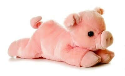 Aurora Percy the Pig # 31180 Stuffed Animal Toy - Stuffed Animal Pigs