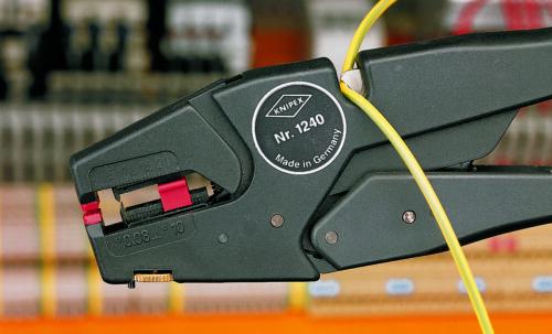 KNIPEX KN1240200ALT Self-Adjusting Insulation Stripper