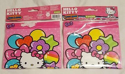 8 Hello Kitty Rainbow Birthday Party Loot Gift Treat Plastic favor - Hello Kitty Treat Bags