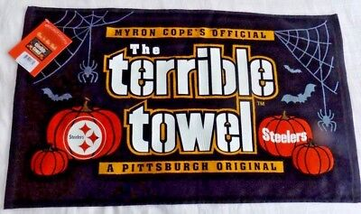 Pittsburgh Steelers Halloween Glow In The Dark  Terrible Towel