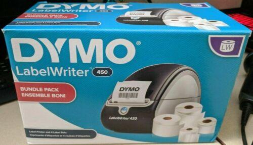 DYMO LabelWriter 450 Value Pack Desktop Label Printer W/ LABELS - USED / TESTED