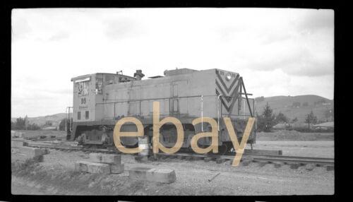 Dravo Locomotive - B&W Negative