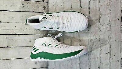 reputable site 9a642 21481 NEW ADIDAS DAME 4 PLAYER EXCLUSIVE WHITE GREEN AC7274 MEN S SIZE 17