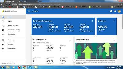 Google Adsense Australia Non Hosted Account For Website With Domain