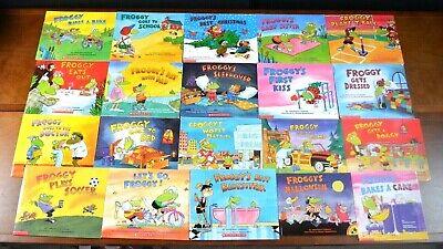 Halloween 2 Froggy (Lot 20 PB FROGGY Picture Books Jonathan London Teacher Set Halloween School)