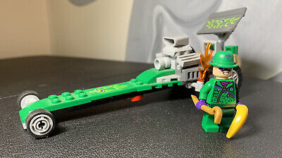 LEGO 76012 BATMAN THE RIDDLER CHASE DRAGSTER with Riddler Minifigure