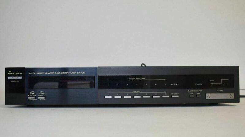 Mitsubishi DA-F76 AM/FM Component Stereo Tuner