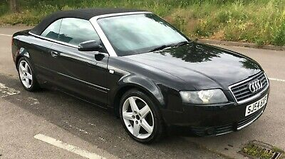 AUDI A4 1.8T SPORT CONVERTIBLE - 2005my - MANUAL - LEATHER - MOT - WORKING ROOF
