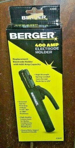 Berger 400 Amp Electrode Holder! Item #63848