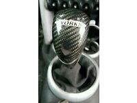 BMW MINI JCW COOPER WORKS CARBON FIBRE GEAR KNOB SHIFTER R53 R54 CAN POST ANYWHERE WITHIN U.K.