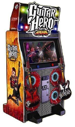 GUITAR HERO ARCADE MACHINE by RAW THRILLS 2010 (Excellent Condition)