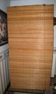 Real Bamboo Blinds 3' x 6'