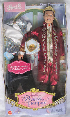 """Ken as """"Princess and the Pauper"""" King Dominick....New In the Box!!!"""
