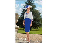 Size 12 - Condici Picasso Blue Biarritz - Full outfit incl accessories