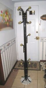 Slightly used Metal Coat Rack in great condition