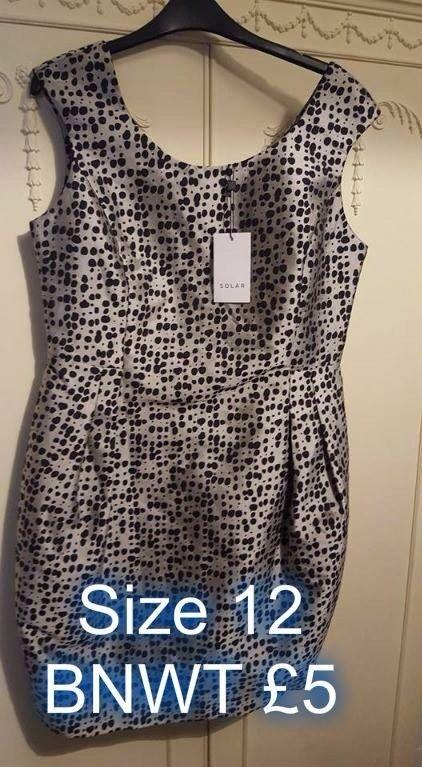 dresses size 12 £5 each
