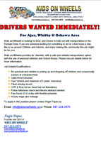 Driver needed!