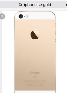 iPhone se 16g gold!!! Brand new!!