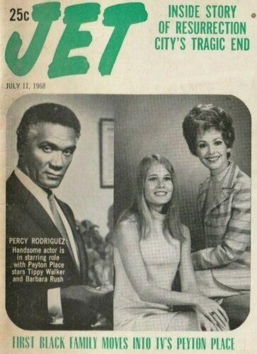Vintage July 1968 Jet Magazine, Black Family Movies, Resurrection City, History