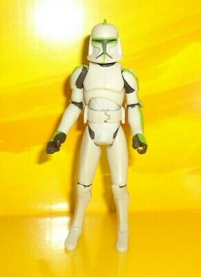 "Star Wars THE CLONE CARTOON 41st Elite Corps Arc Light Green 3.75"" Figure Hasbro"
