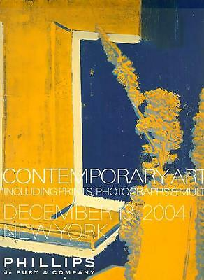 TWO POST AUCTION CATALOGS ///  Impressionist/Contemporary Art Large