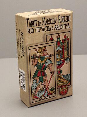 TAROT DE MARSELLA ROBLEDO CARD DECK - MARSEILLE RECREATION  - EDICION 2016