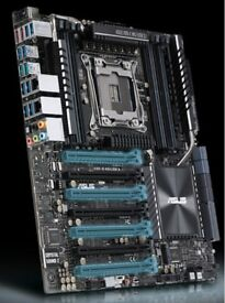 ASUS X99-EWS 3.1 Motherboard + 2x Corsair H115i Coolers all for 120!