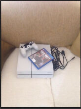White ps4 500 gb with controller and black ops 3 Casula Liverpool Area Preview