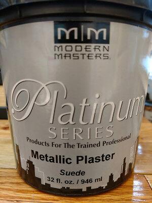 Modern Masters Plaster - PSMP703-32 SUEDE QT  MODERN MASTERS METALLIC PLASTER