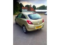 **BEAUTIFUL** 58 VAUXHALL CORSA GOLD 1.2 PETROL 3DR micra vxr bmw astra audi golf car focus fiesta