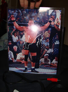 MMA UFC PRIDEFC Mark Coleman Autographed PIcture
