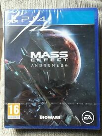 Mass Effect Andromeda PS4 - BRAND NEW & SEALED