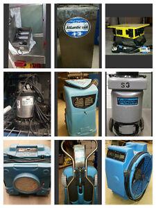 Restoration & Abatement Equipment For Sale