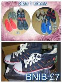 boys shoes size 1 prices in pictures some new from a smoke and pet free home