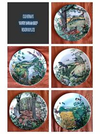 "COLIN NEWMAN'S ""COUNTRY PANORAMA SERIES"" WEDGEWOOD PLATES"