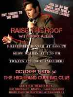 RAISE THE ROOF WITH RORY ALLEN