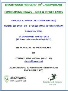 Golf rounds & power carts - Brightwood