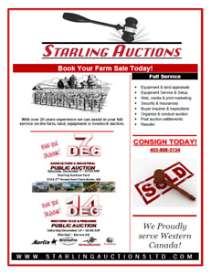 December Agricultural & Industrial Public Consignment Auction