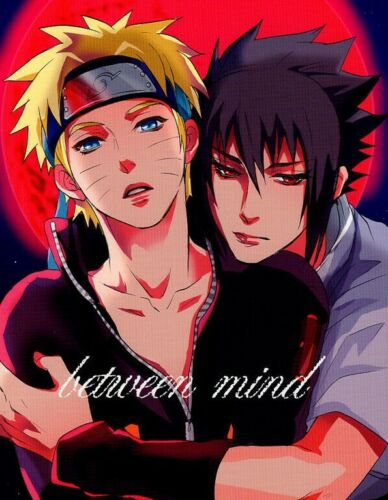 Naruto Doujinshi Comic Sasuke x Naruto MIKAYLA between mind